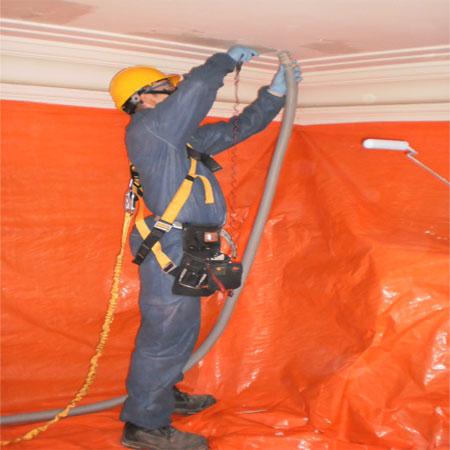 Lead paint remediation.