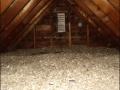 Vermiculite attic insulation.